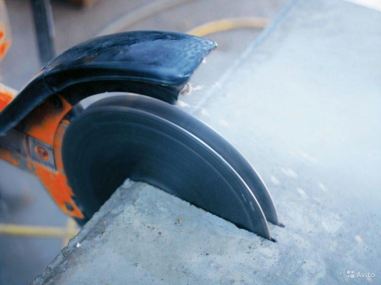 Резка бетона: где может применяться и в чем особенности технологии?